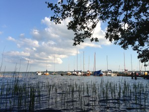 Boote am Selenter See
